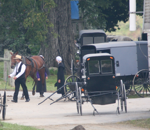 Amish Church Sunday