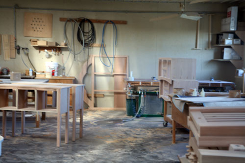 Amsh Woodshop Inside