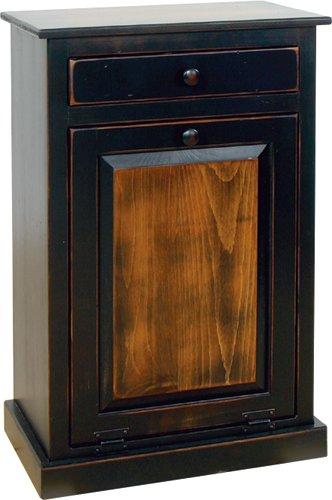 Trash Bin Cabinet With Drawer